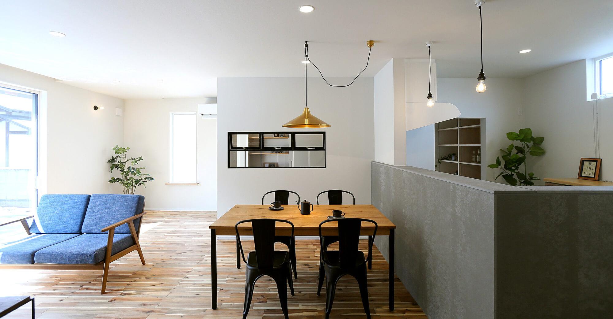 長野で建てる新築一戸建てでは『いい家づくりの主役はあなたです』