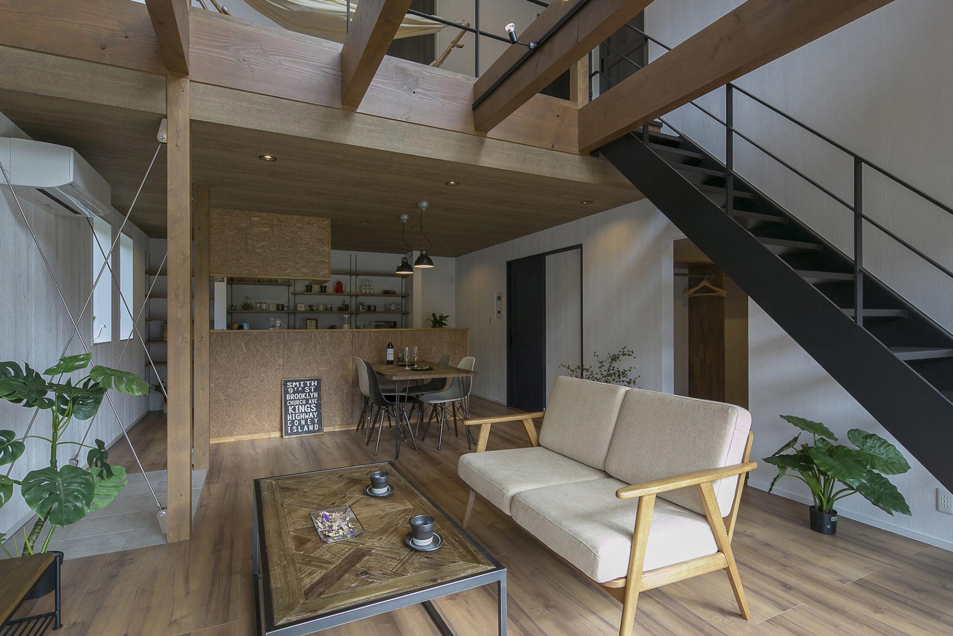 開放たっぷり、住むより楽しむ家3
