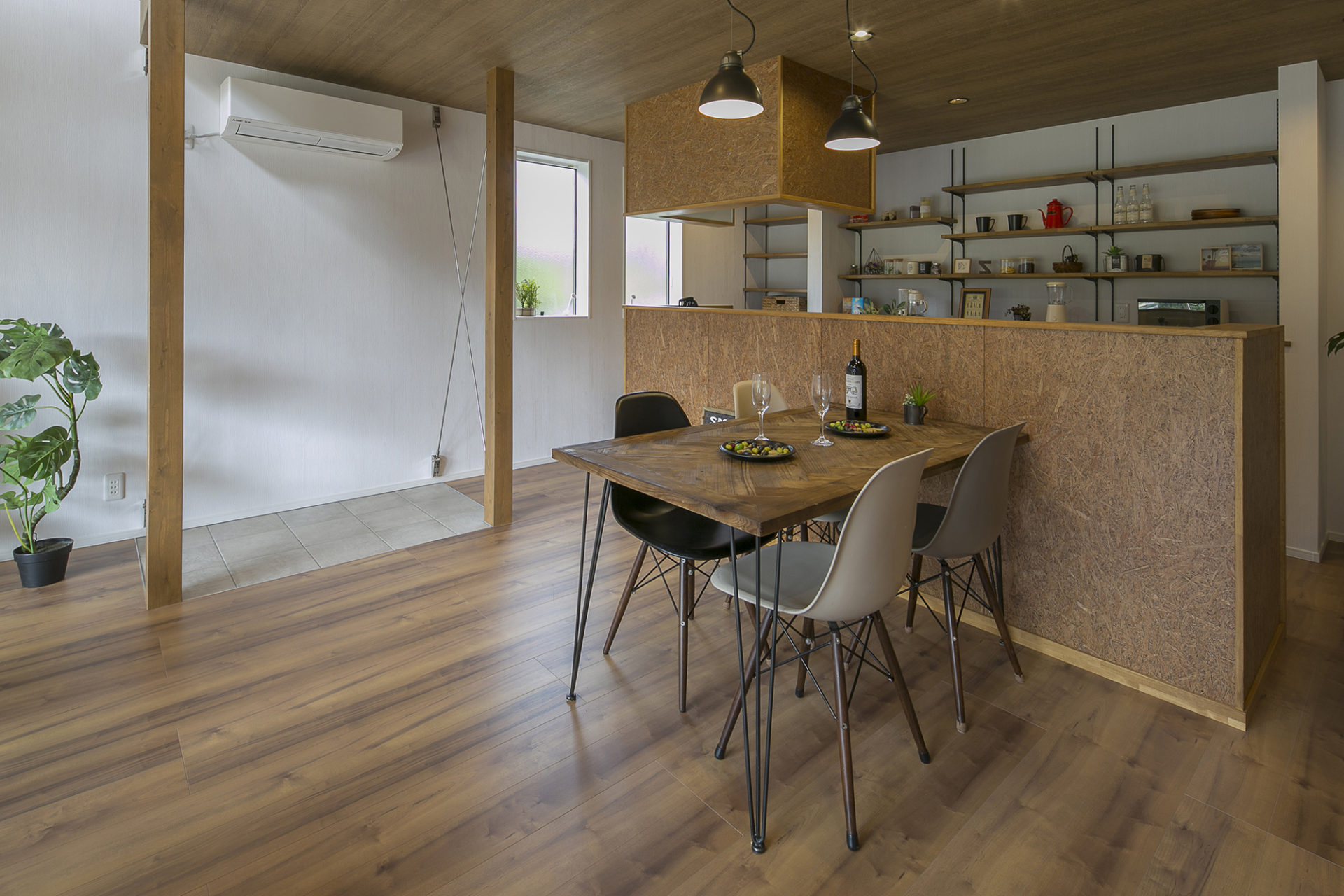 開放たっぷり、住むより楽しむ家6