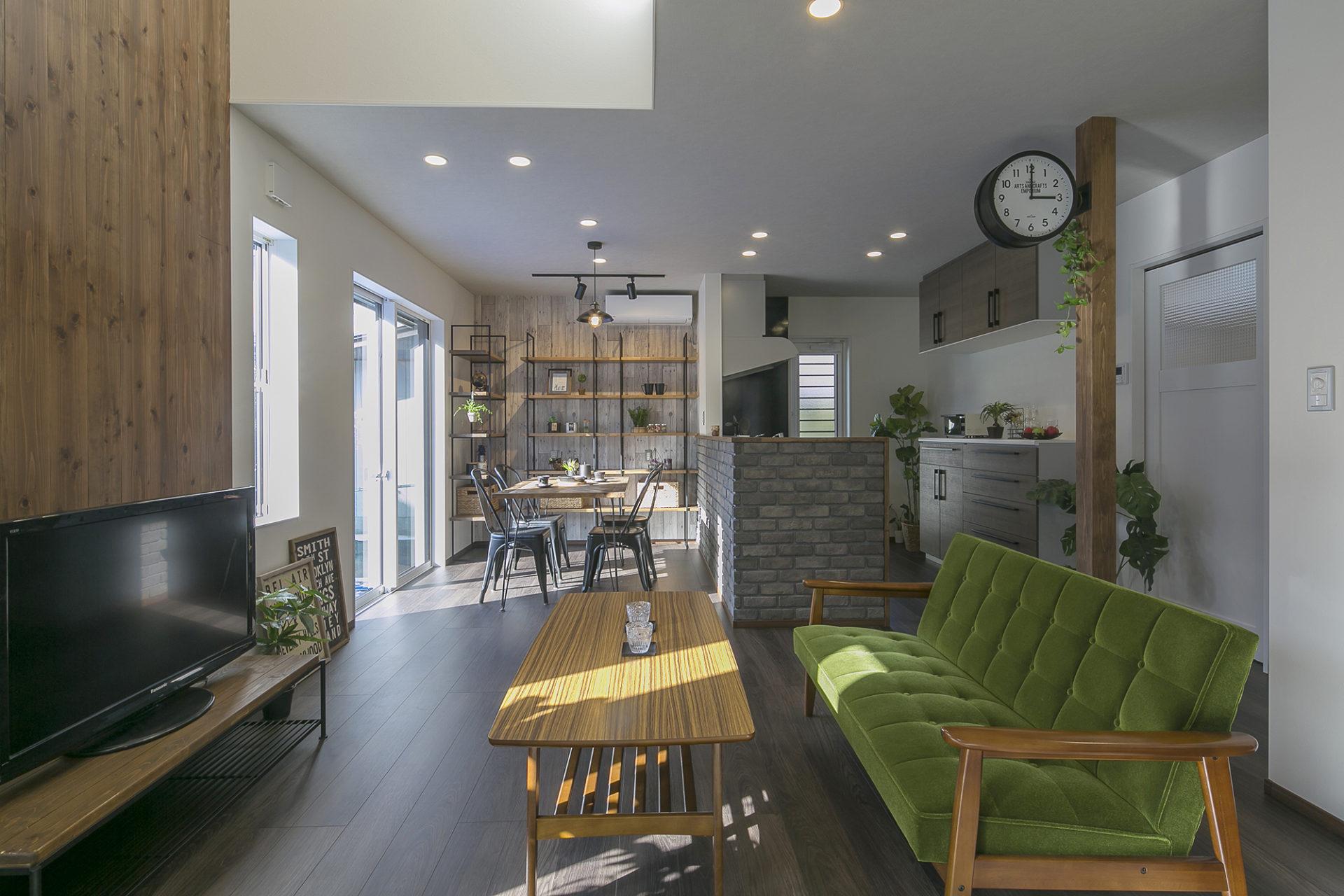 Shiawaseya-まるでCaféのようなデザイナーズスタイルの家