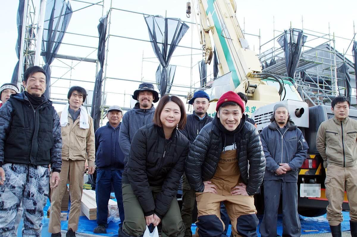 Shiawaseya-長野市のN様邸、上棟&上棟式を執り行いました!!