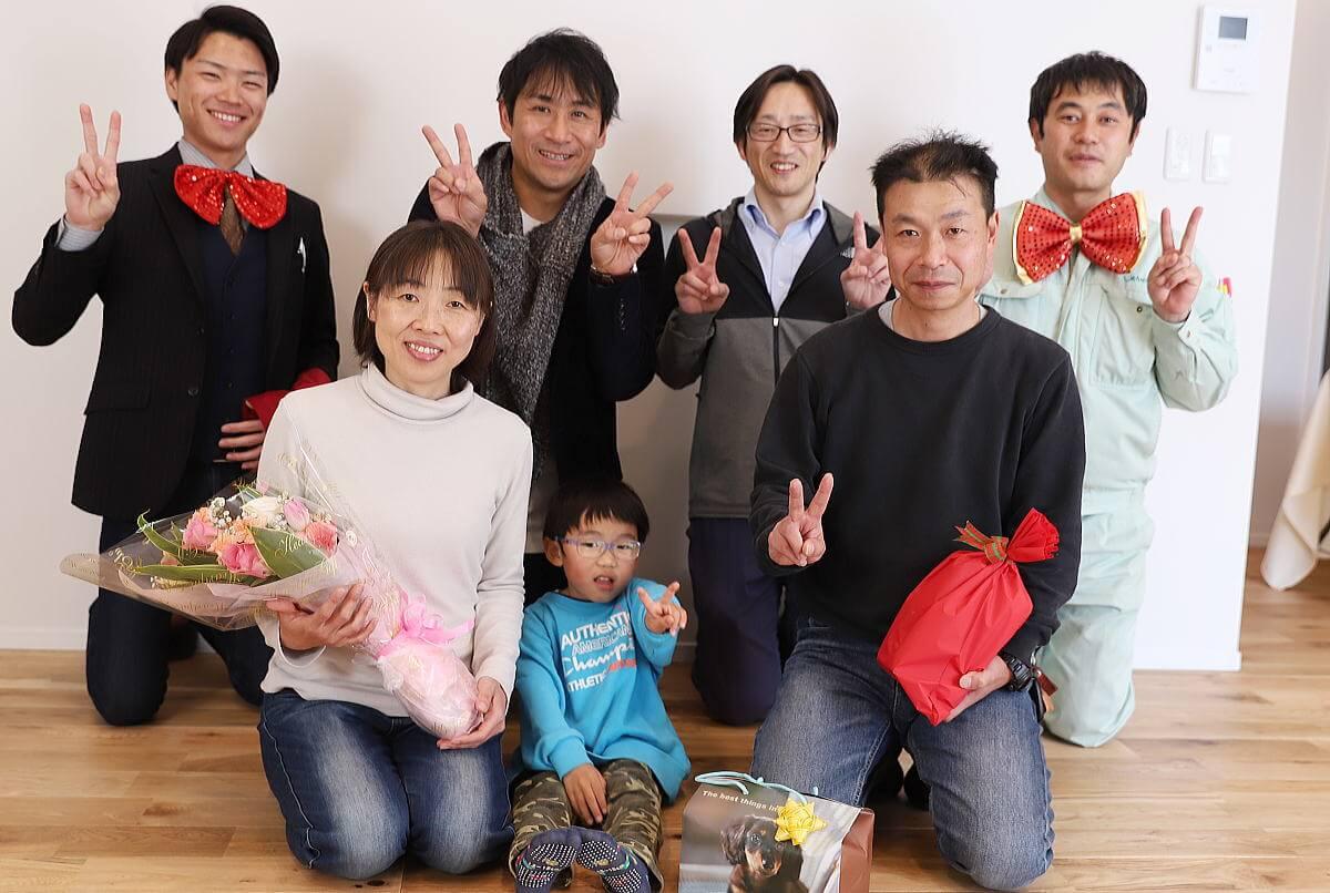Shiawaseya-長野市のI様邸、お引渡しです!!