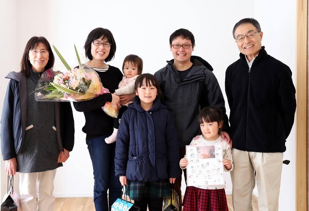 Shiawaseya-中野市のS様邸、お引渡しです!!