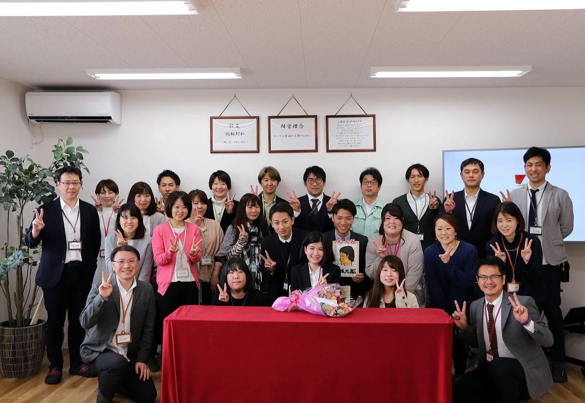 Shiawaseya-入社式!!
