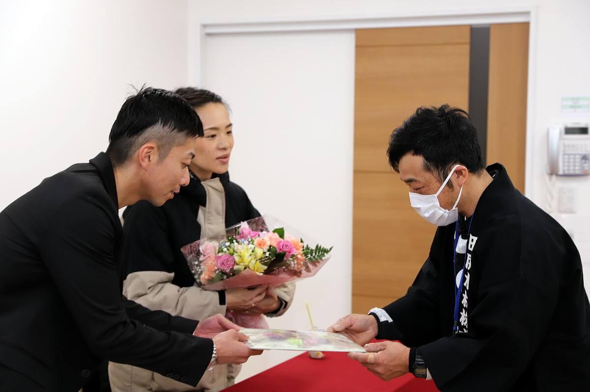 Shiawaseya-4月度前半の着工式を開催しました!!