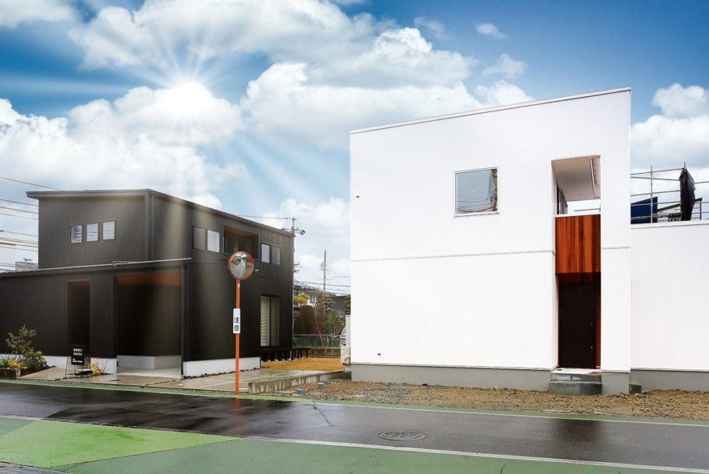 Shiawaseya-【予約見学会&オンライン見学会】6/13(土)14(日)、『クロ』『シロ』モデルハウス2棟同時、見学会開催!