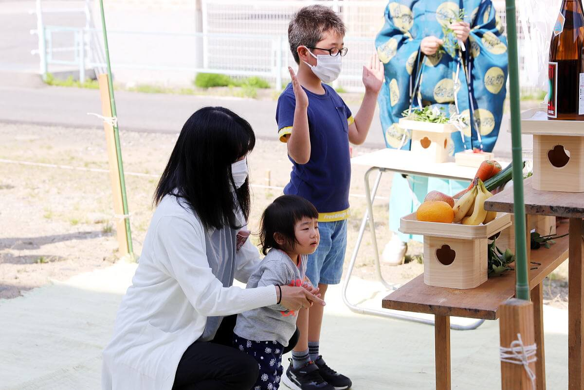 Shiawaseya-長野市のK様邸、地鎮祭&ご契約です!!