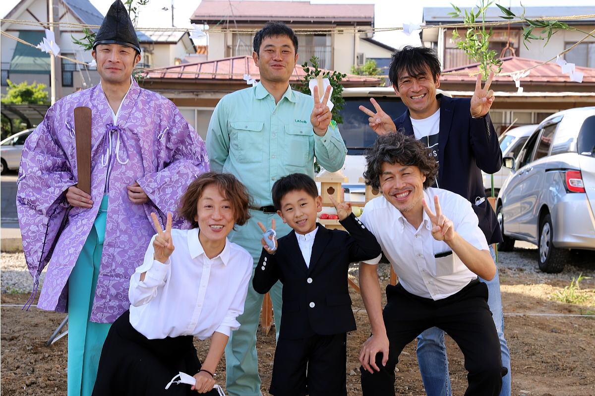 Shiawaseya-長野市のY様邸、地鎮祭です!!