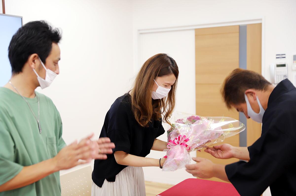 Shiawaseya-8月度の着工式の着工式を開催しました!!