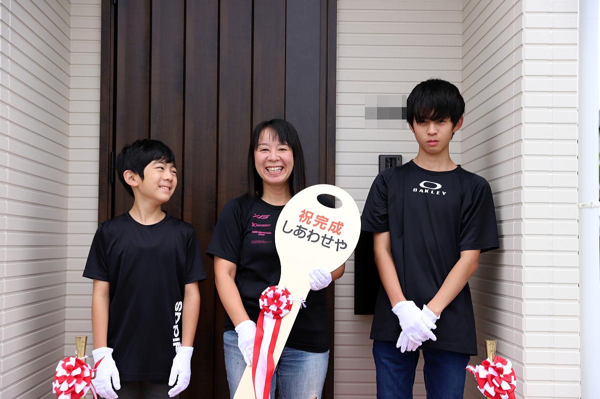 Shiawaseya-須坂市のK様邸、お引渡しです!!