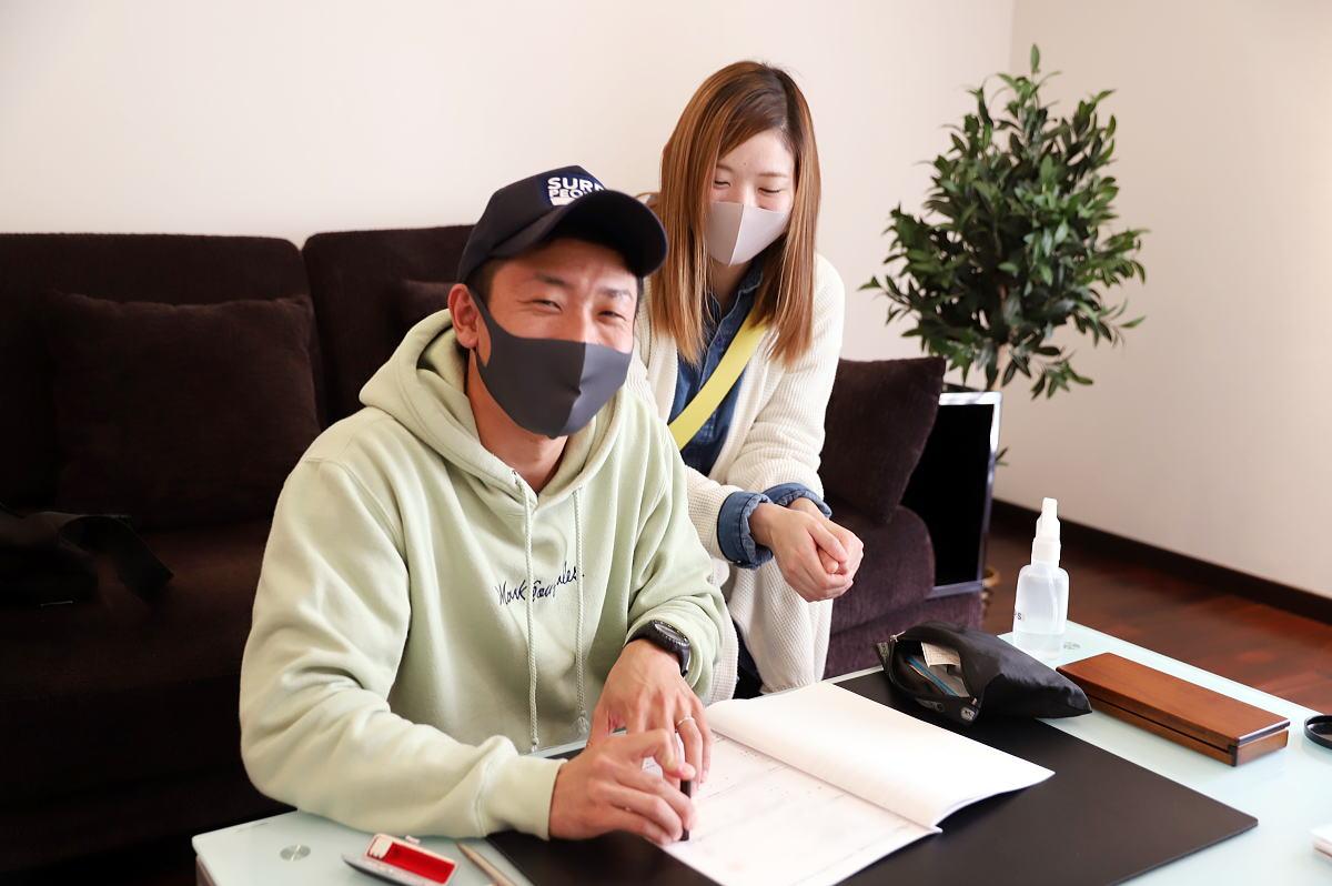 Shiawaseya-千曲市のM様、ご契約いただきました!!