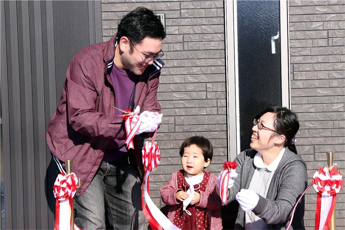 Shiawaseya-長野市のH様邸、お引渡しです!!