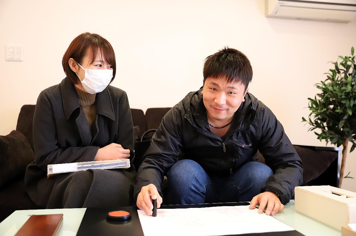 Shiawaseya-須坂市のK様、ご契約です!!