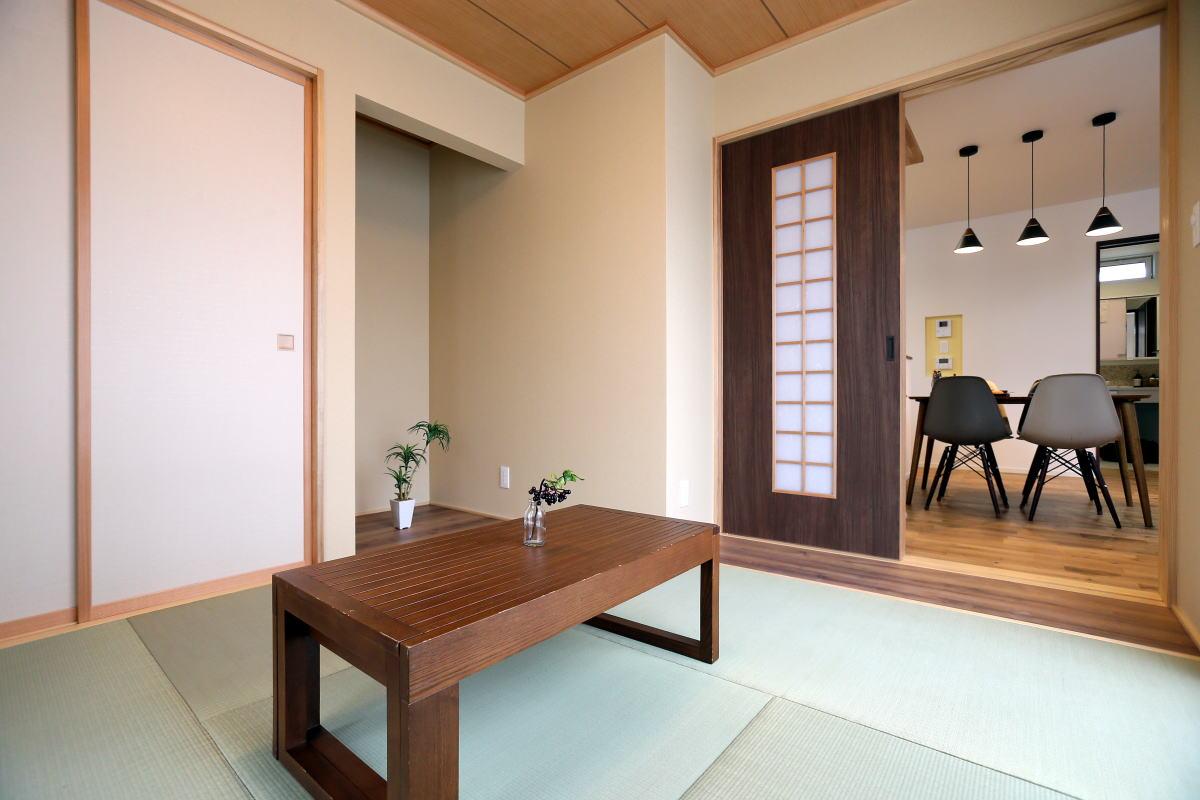 家族のぬくもりを感じる、心地良い長野市の家5