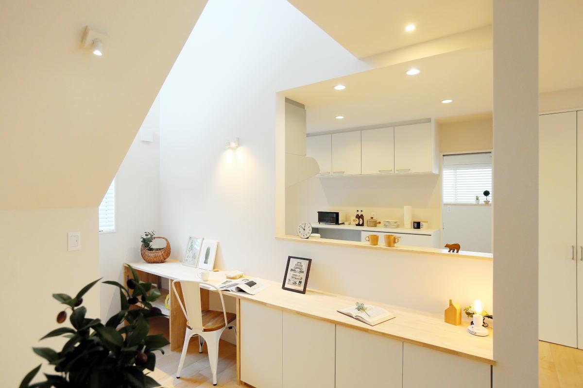 遊び心いっぱい♪広々階段のある長野市の家6