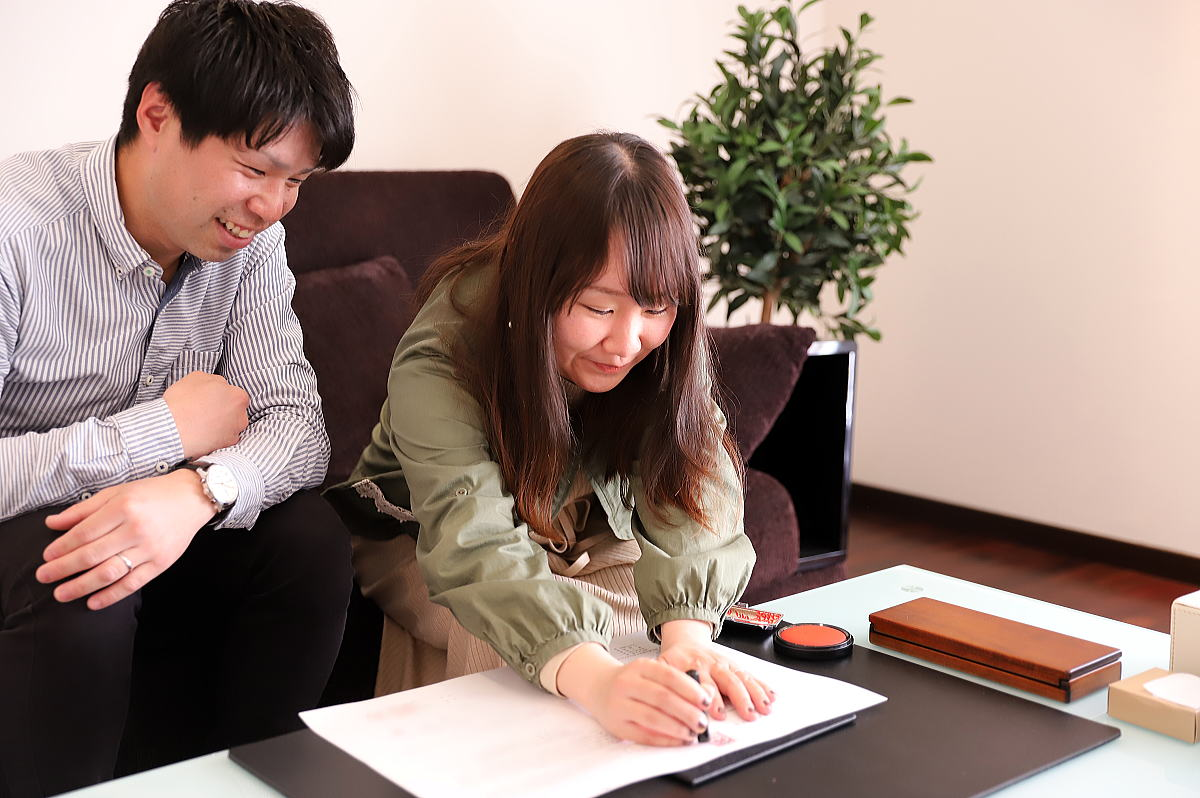 Shiawaseya-長野市のM様邸、地鎮祭&ご契約です!!