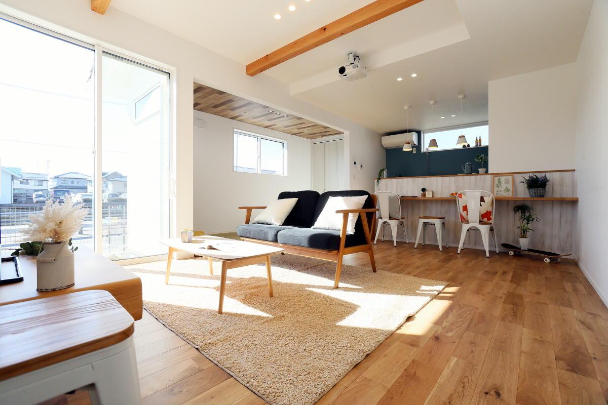 ホームシアターを楽しむ長野市の家2