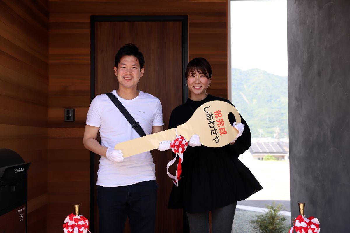 Shiawaseya-上田市のK様、お引渡しとなりました!!