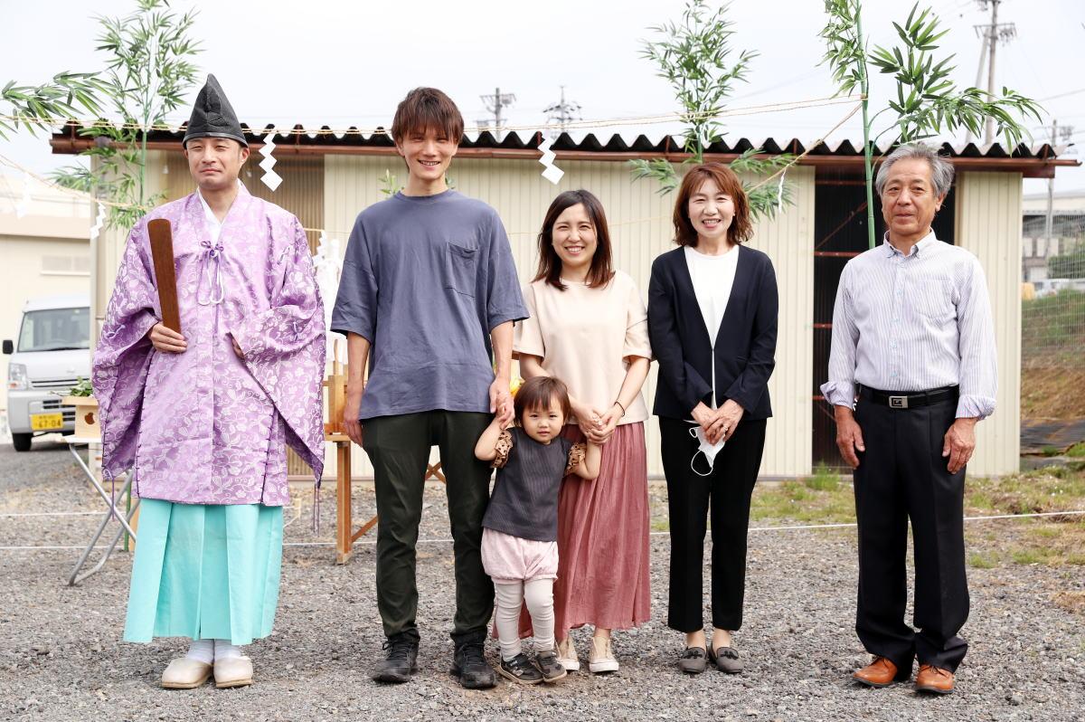 Shiawaseya-高山村のK様邸、地鎮祭です!!