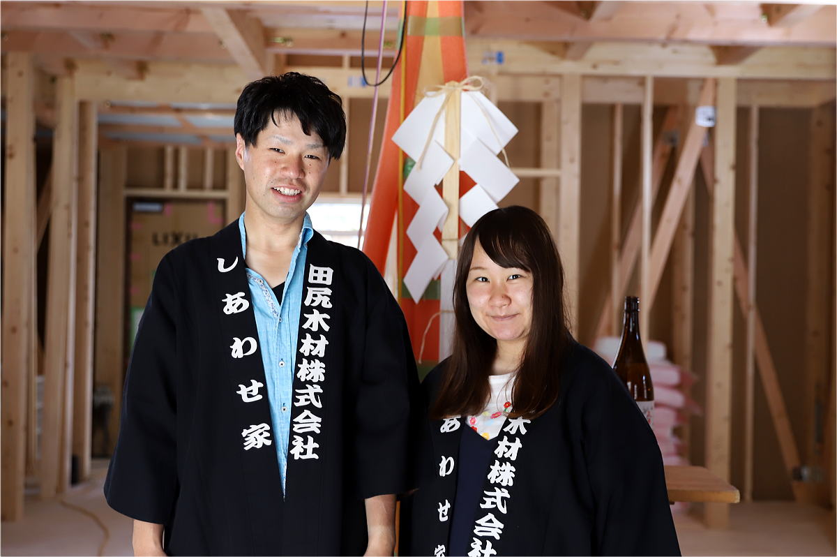 Shiawaseya-長野市のM様邸、上棟式です!!