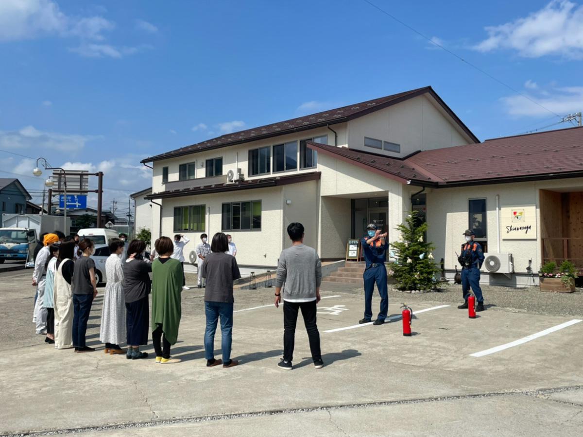 Shiawaseya-長野市若穂 しあわせや避難訓練の日