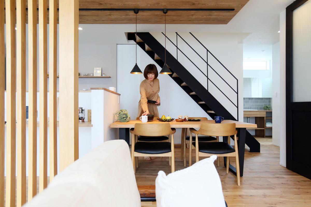 『shiawaseya、building the house』、上田市のお家2