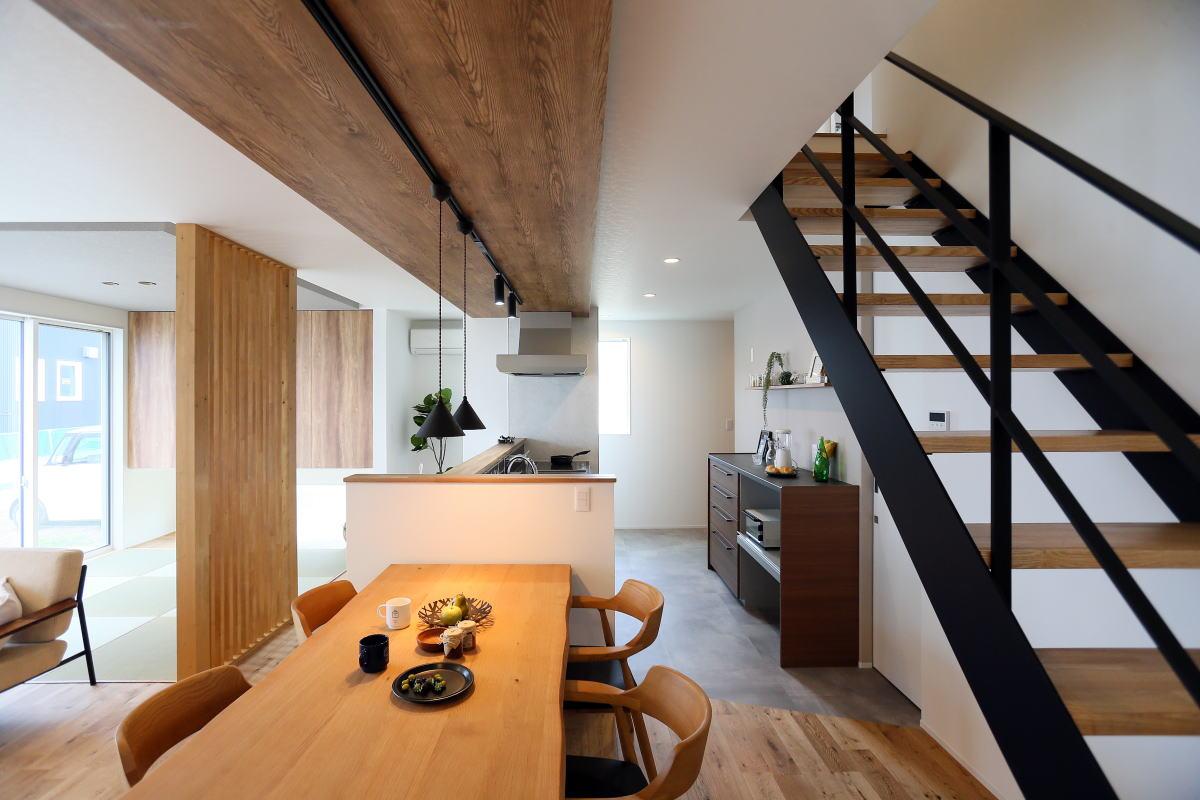 『shiawaseya、building the house』、上田市のお家5