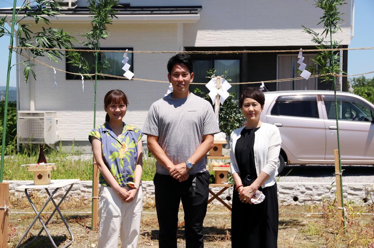 Shiawaseya-小布施町のT様邸、地鎮祭&ご契約です!!
