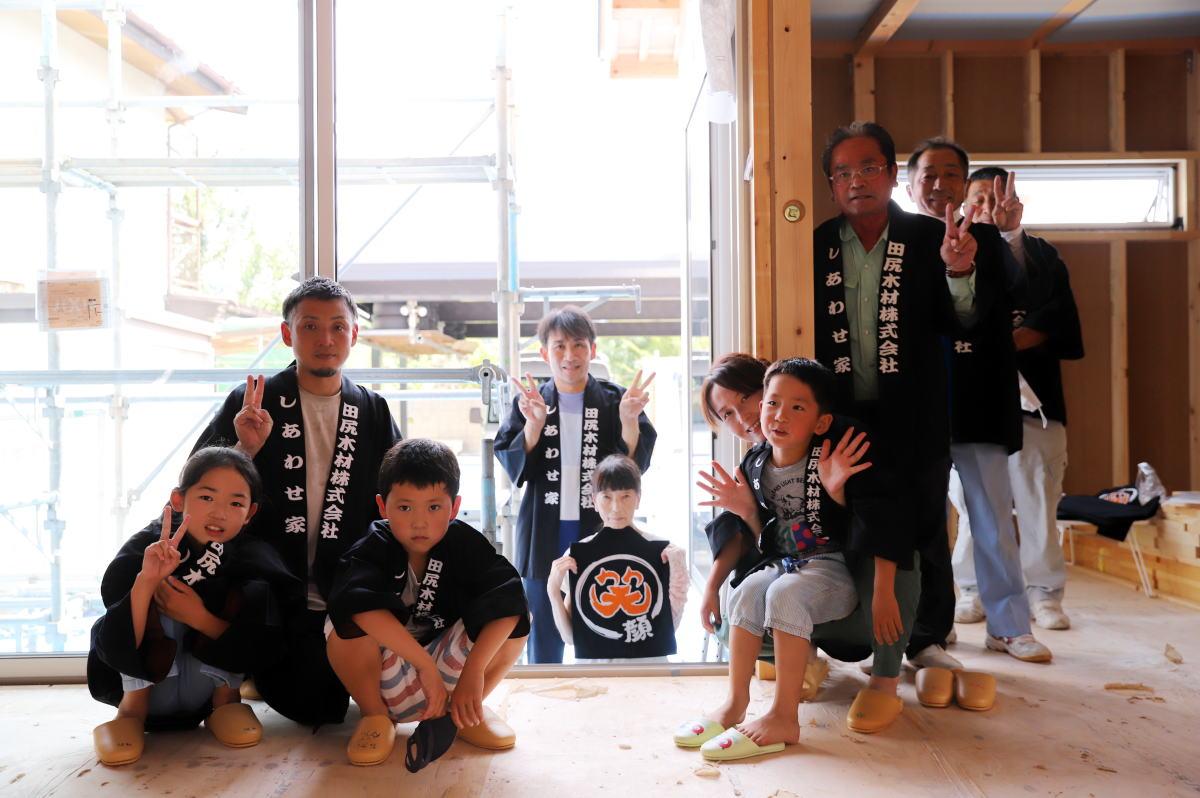 Shiawaseya-長野市のN様邸、上棟式を執り行いました!!