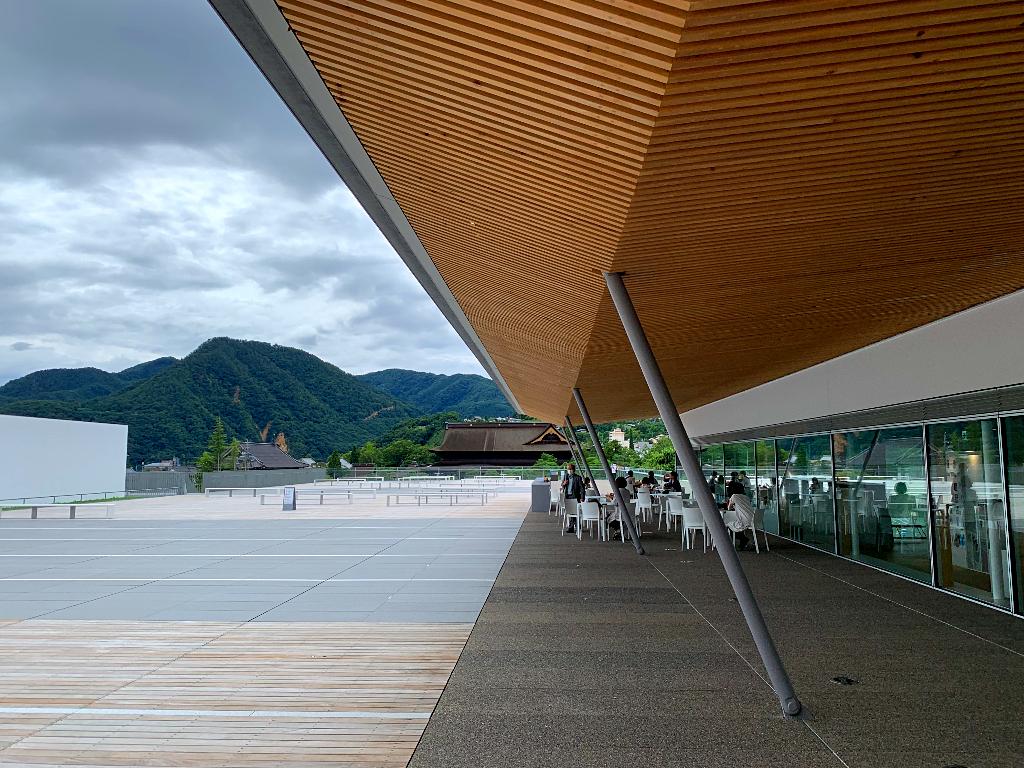 Shiawaseya-長野県立美術館へ行ってみました