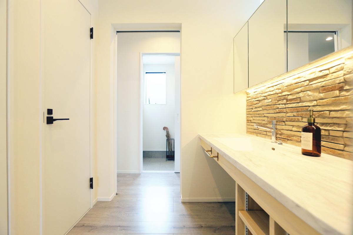 ホテルライクな空間を日常にする須坂市の家6