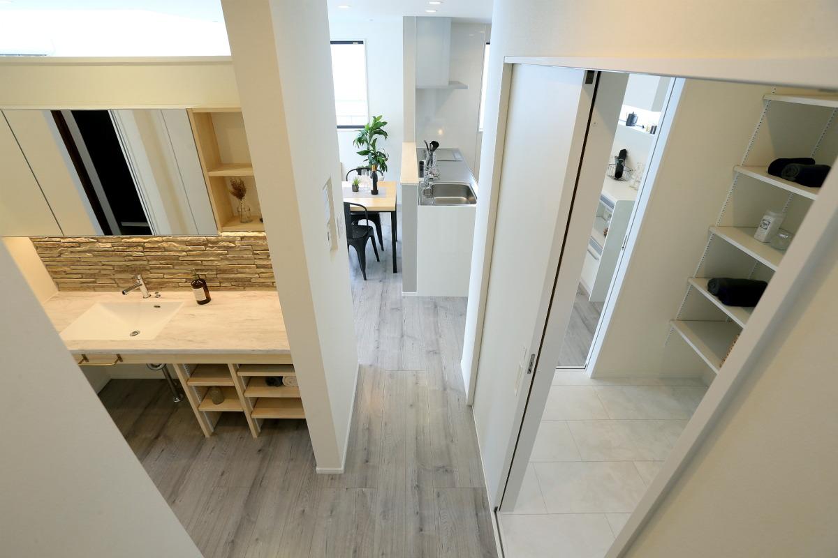 ホテルライクな空間を日常にする須坂市の家7