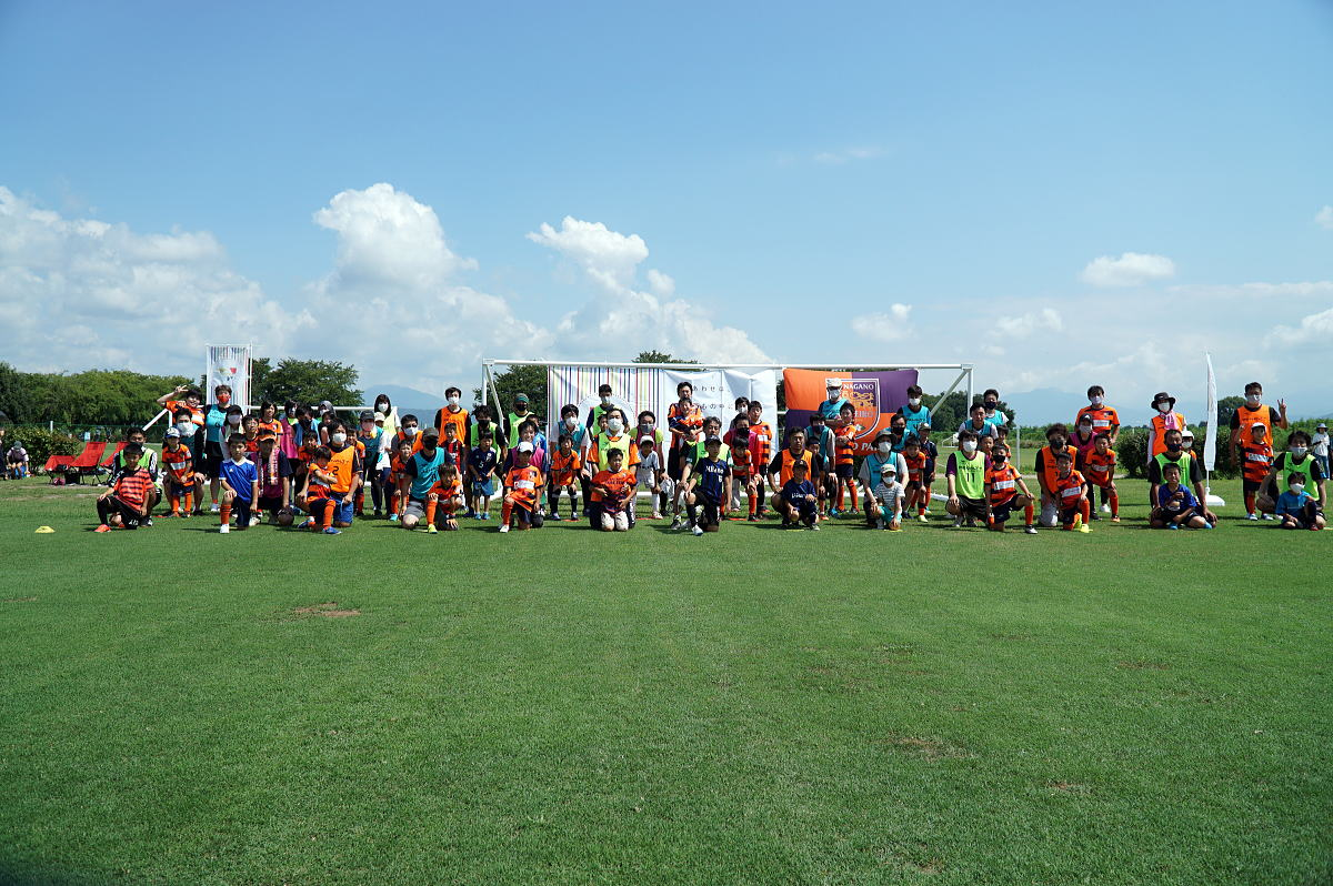 Shiawaseya-Shiawaseyaプレゼンツ「AC長野パルセイロ親子サッカー教室」を開催しました!!