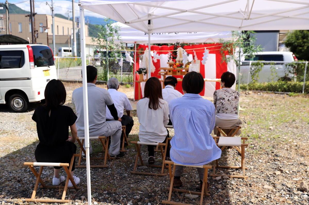 Shiawaseya-「平屋住宅工房」長野市のO様、地鎮祭&ご契約です!!