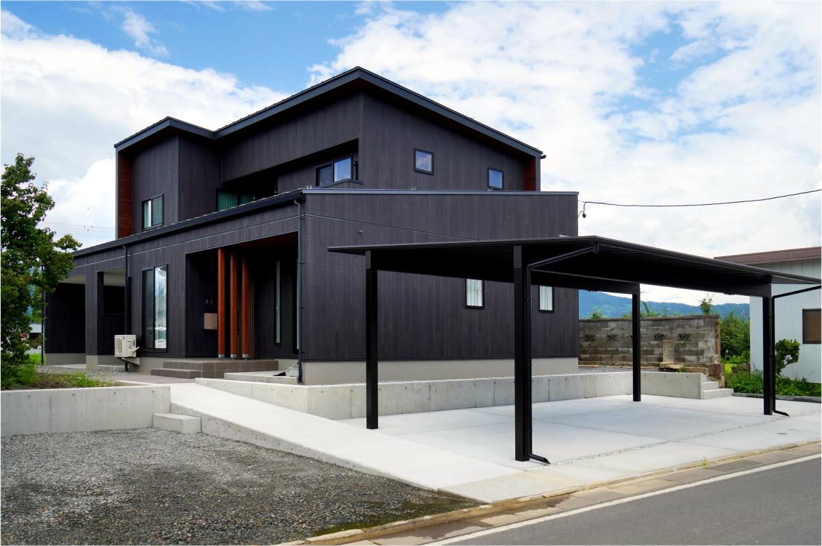 「8年越しの夢を叶えた」長野市の家10