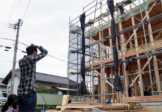 長野市 新築 上棟