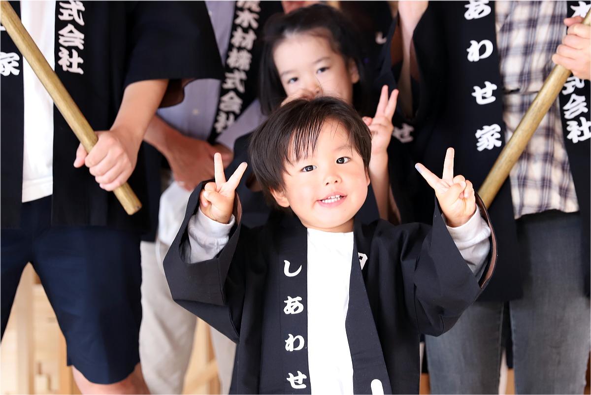 Shiawaseya-上田市のY様邸、上棟&上棟式です!!