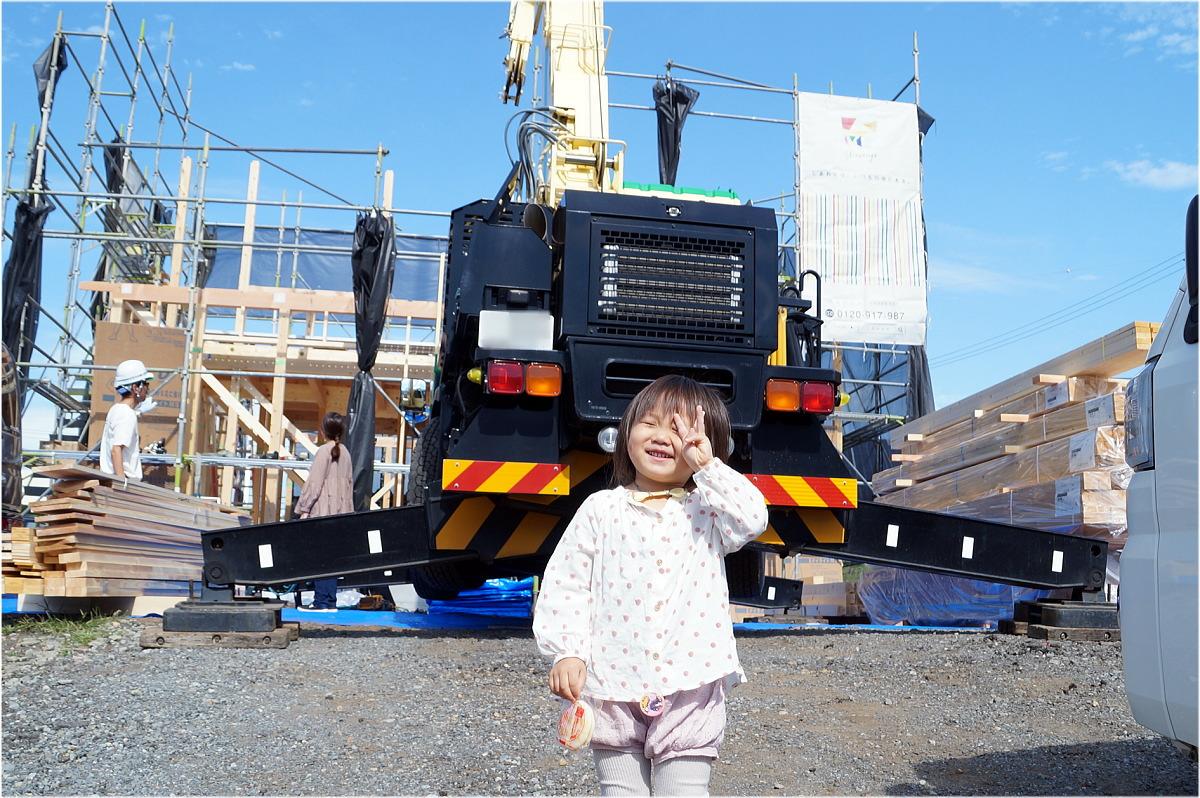 Shiawaseya-高山村のK様邸、上棟しました!!