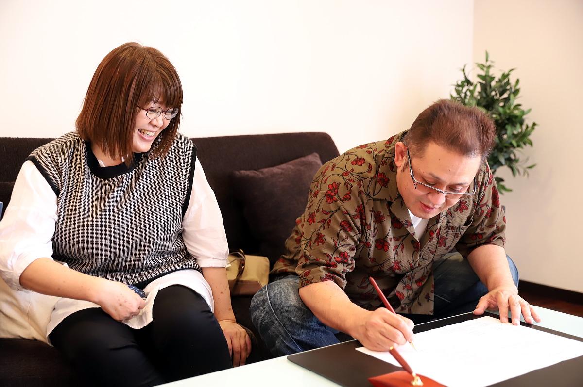 Shiawaseya-長野市のK様、ご契約となりました!!
